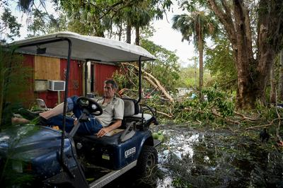 Irma's trail of devastation in Florida