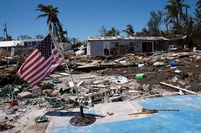 Florida Keys devastated by Hurricane Irma