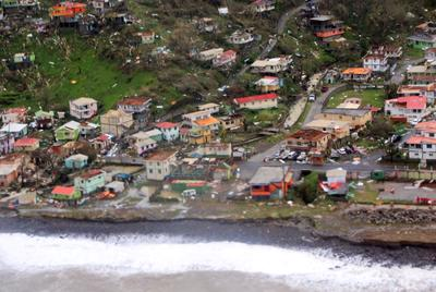 Hurricane Maria slams Caribbean