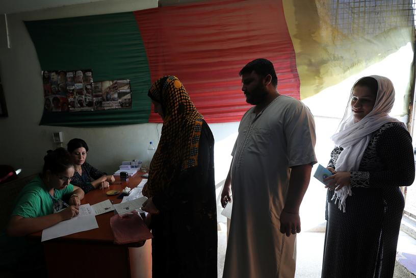 Syrians vote in Kurdish-led regions of north