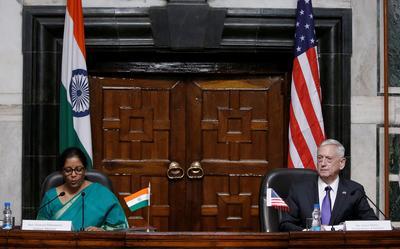 Jim Mattis visits India