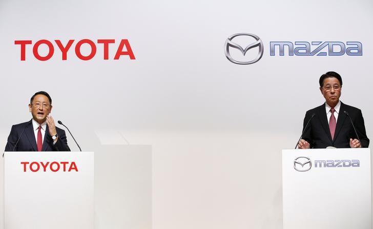 Toyota und Mazda arbeiten bei Elektroautos zusammen