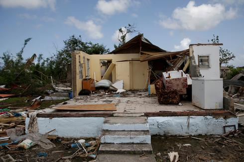 Barbuda one month after Hurricane Irma