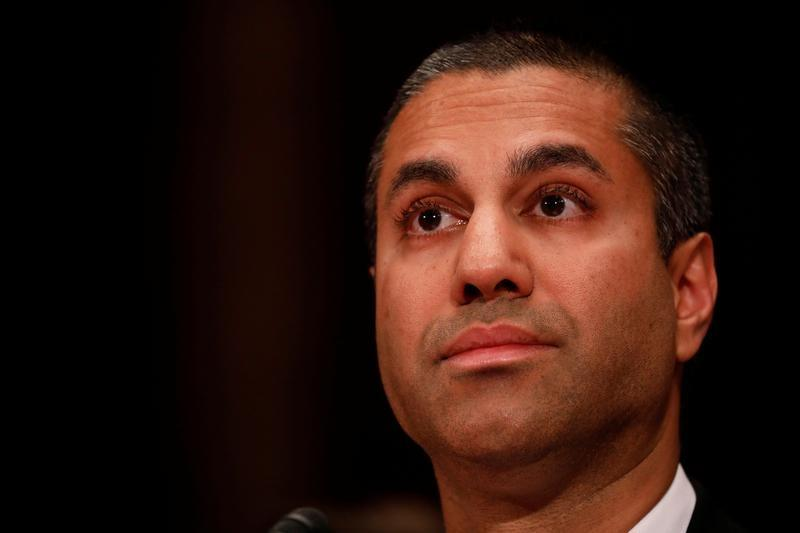 Image result for FCC head silent on Trump comment about pulling broadcast licenses