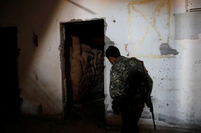 Inside an Islamic State bunker in Raqqa