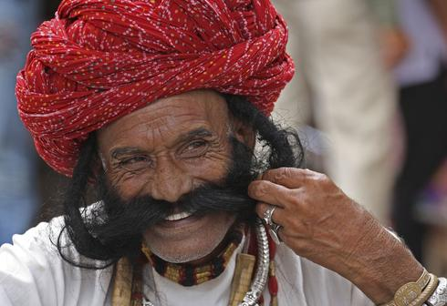 Moustaches of India