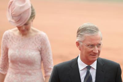 Belgian royals visit India