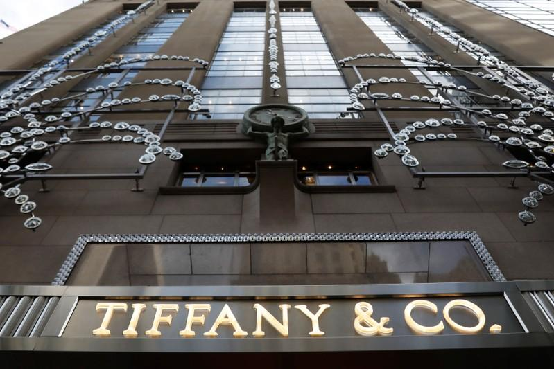 The Outside Of Tiffany Co S Flagship On Fifth Avenue Is Seen In New York City U November 10 2018 Reuters Shannon Stapleton