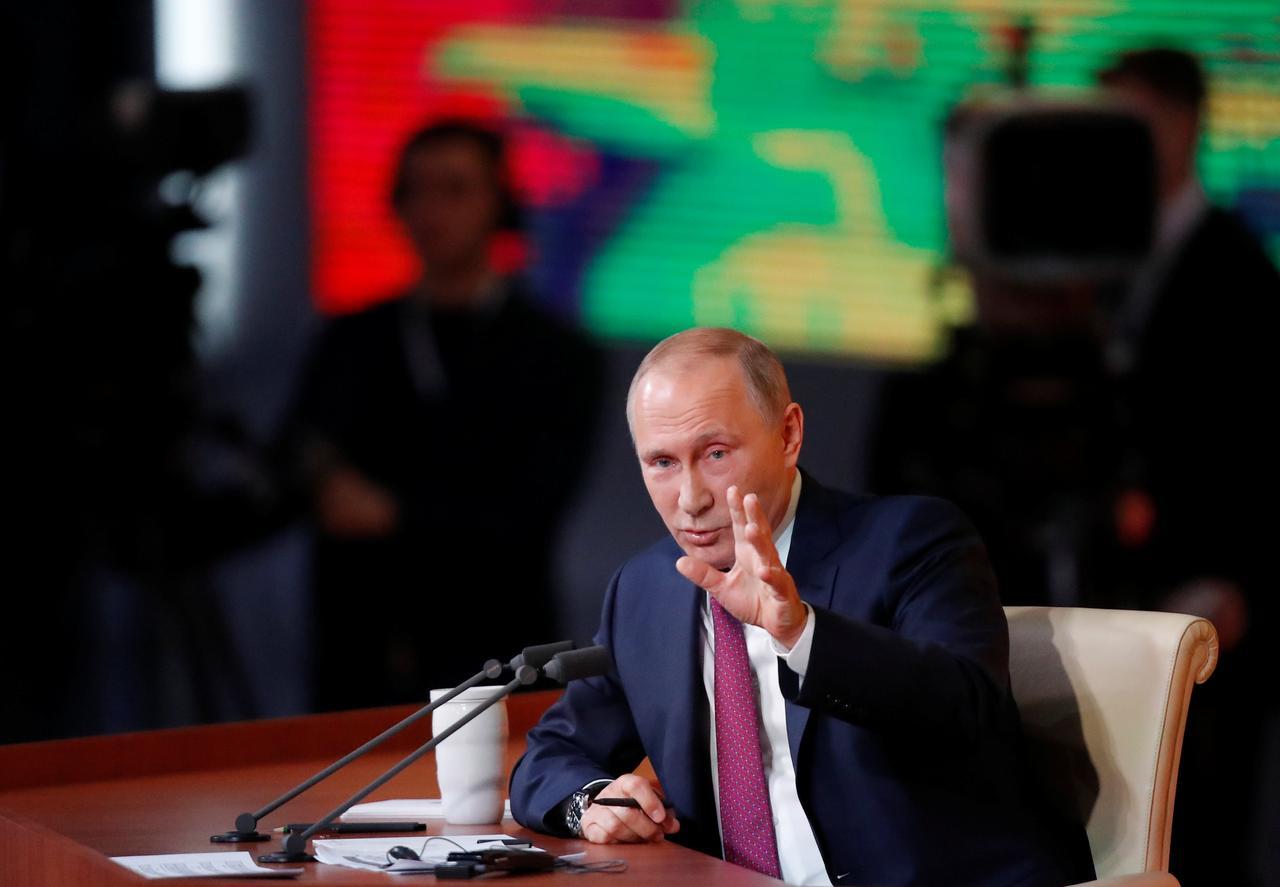 Putin diz que Rússia não será arrastada para nova corrida armamentista com EUA