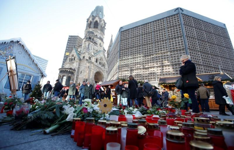 Security Tight As Germany Marks Anniversary Of Christmas Market