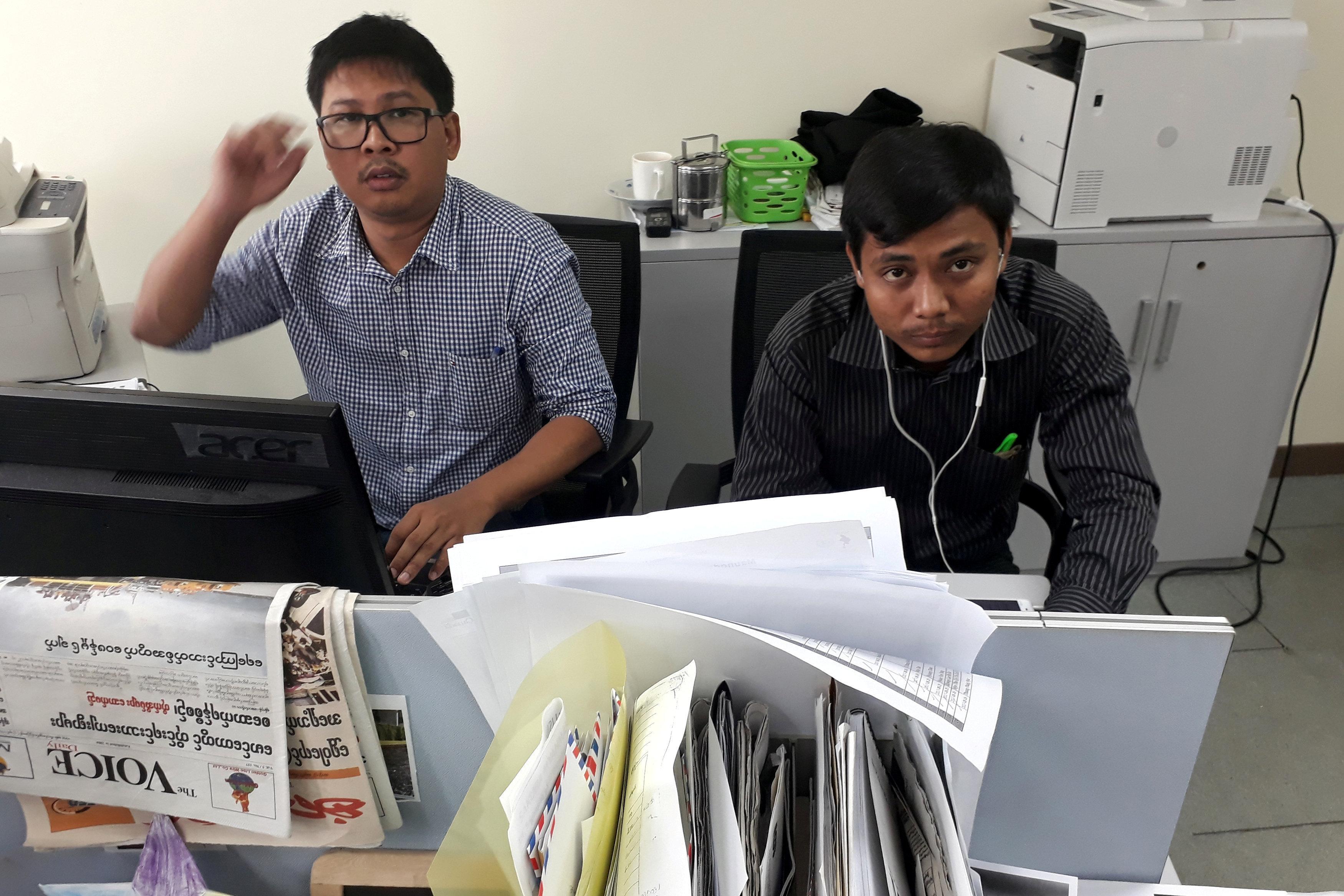 Factbox - International reaction to arrest of Reuters reporters in Myanmar