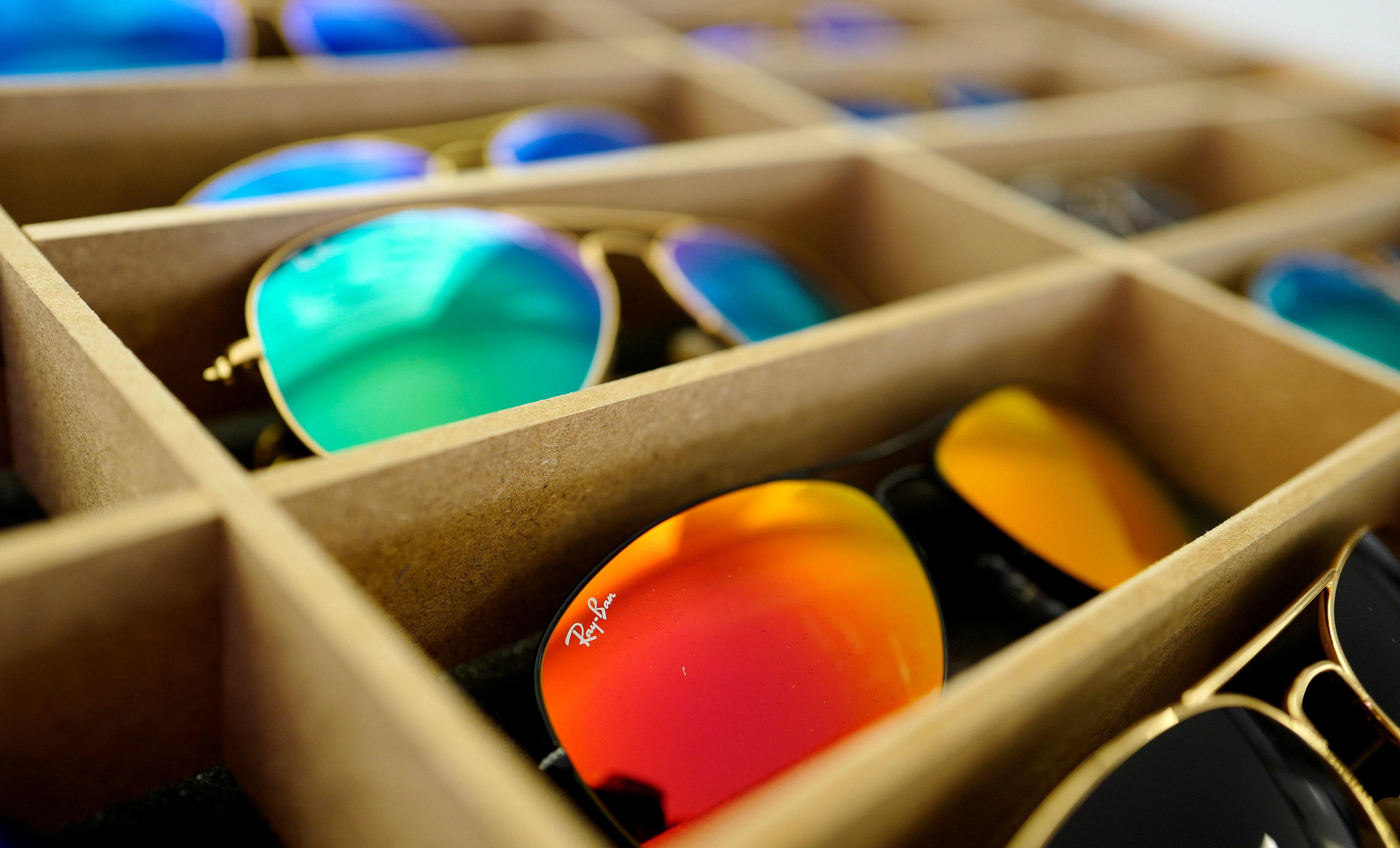 Luxottica sees strong adjusted net profit growth after full year slideshow 2 images buycottarizona Gallery