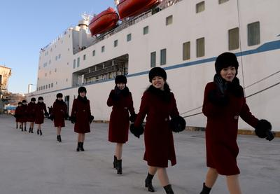 North Korean orchestra sails into South