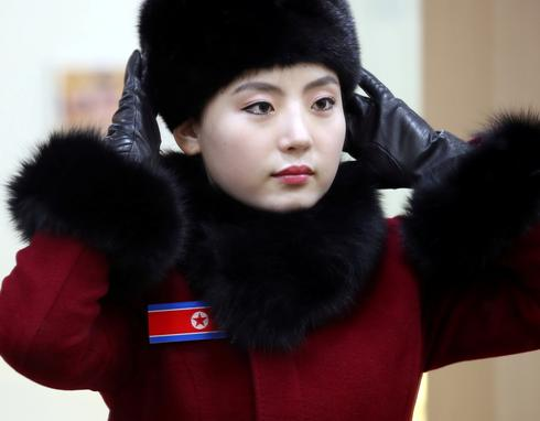 North Korea's cheer squad