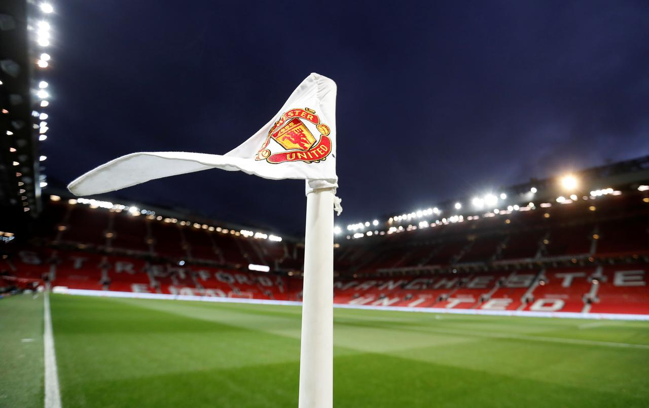 Champions league costs put brake on man united profit reuters soccer football premier league manchester united vs stoke city old trafford manchester britain january 15 2018 general view of a corner flag at voltagebd Image collections