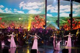 North Korean orchestra serenades South