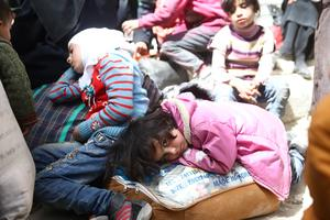 Exodus from Ghouta