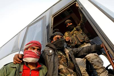 Syrian rebels withdraw from Ghouta