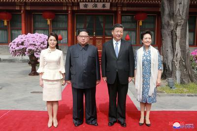 Kim Jong Un visits Beijing
