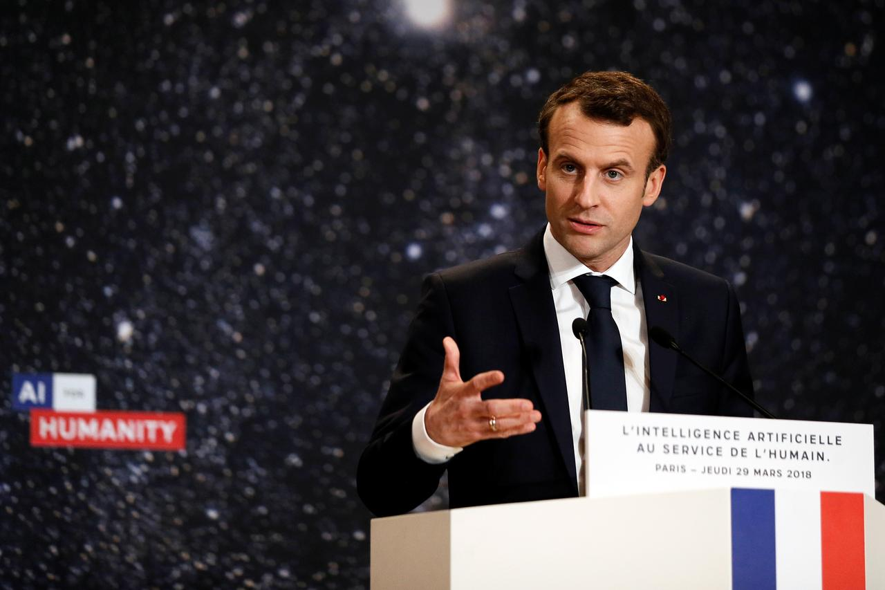 France to spend $1 8 billion on AI to compete with U S