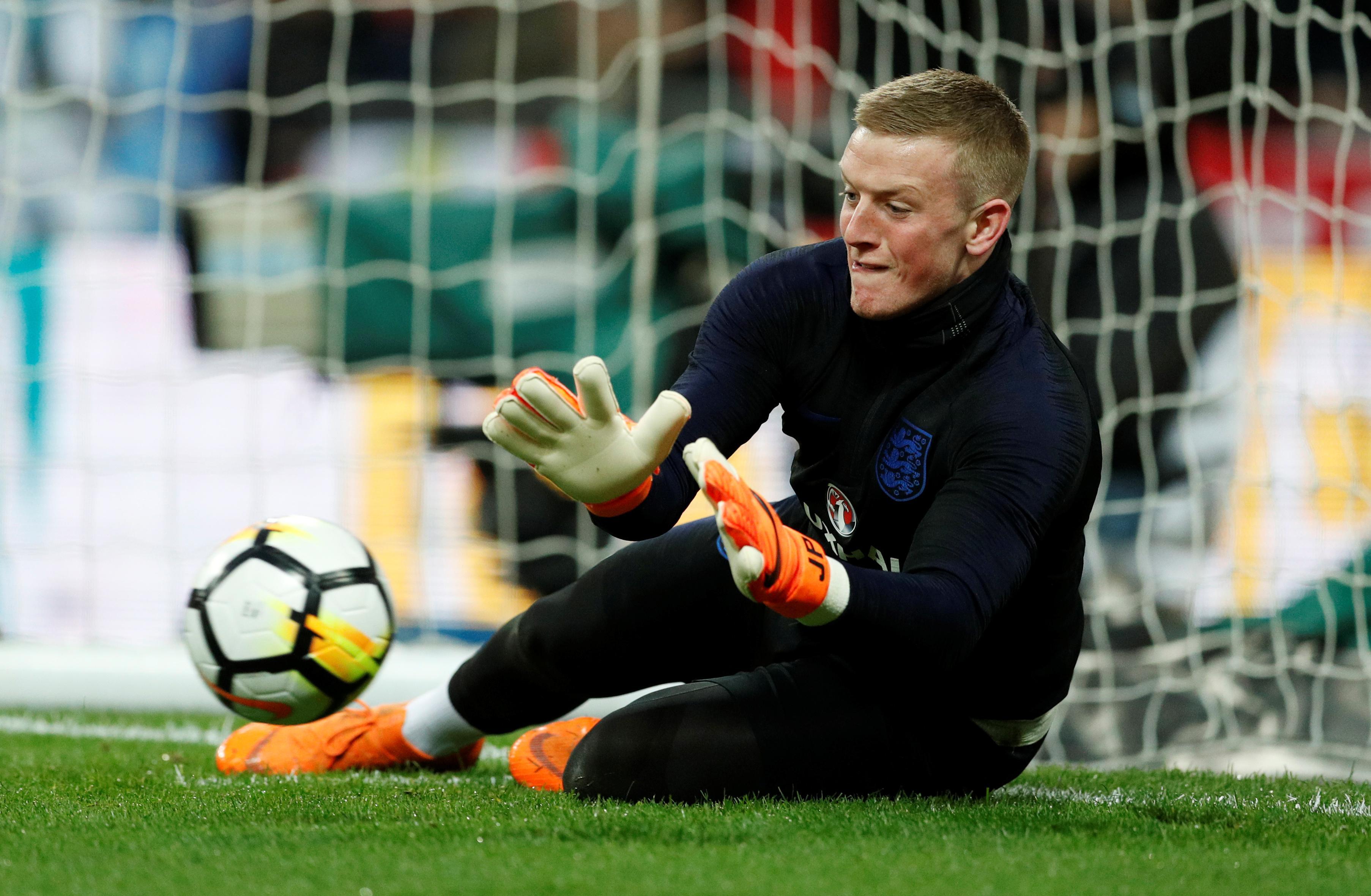 Pickford can be England's World Cup keeper - Allardyce