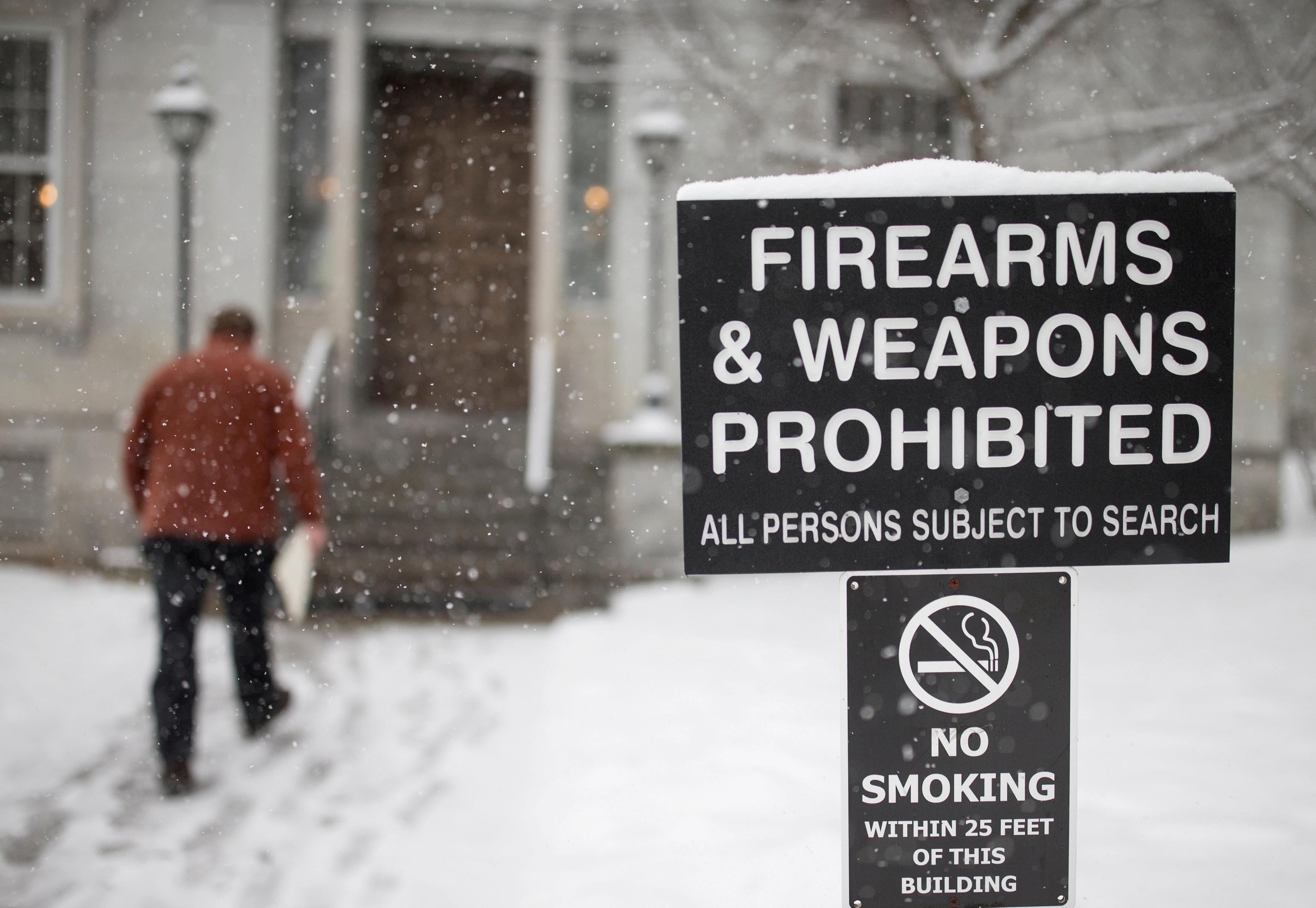 In gun-friendly Vermont, lawmakers pass firearms control bill