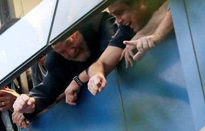 Brazil's Lula defies prison order