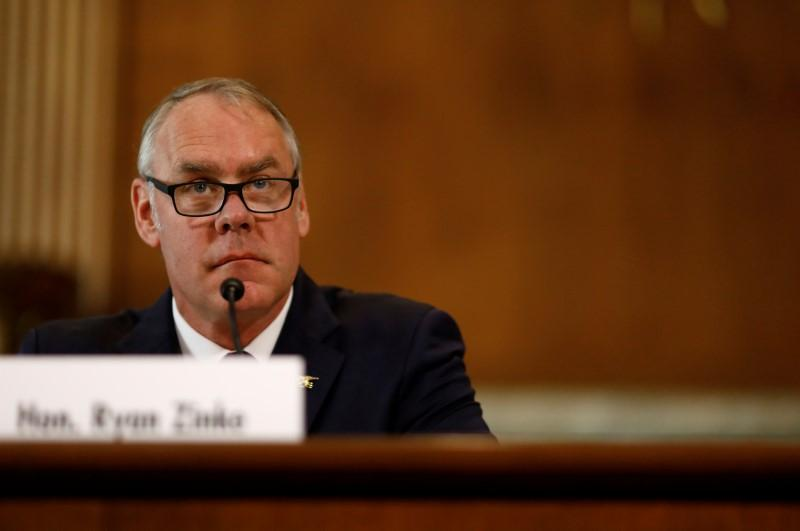 photo image U.S. Interior chief's $12,000 charter flight 'could have been avoided': watchdog