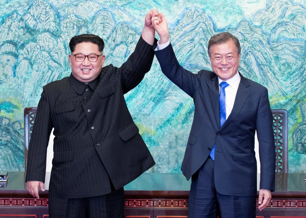 Image result for two koreas sign joint statement