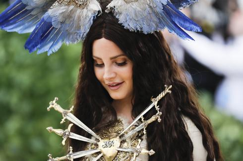 Heavenly crowns at the Met Gala
