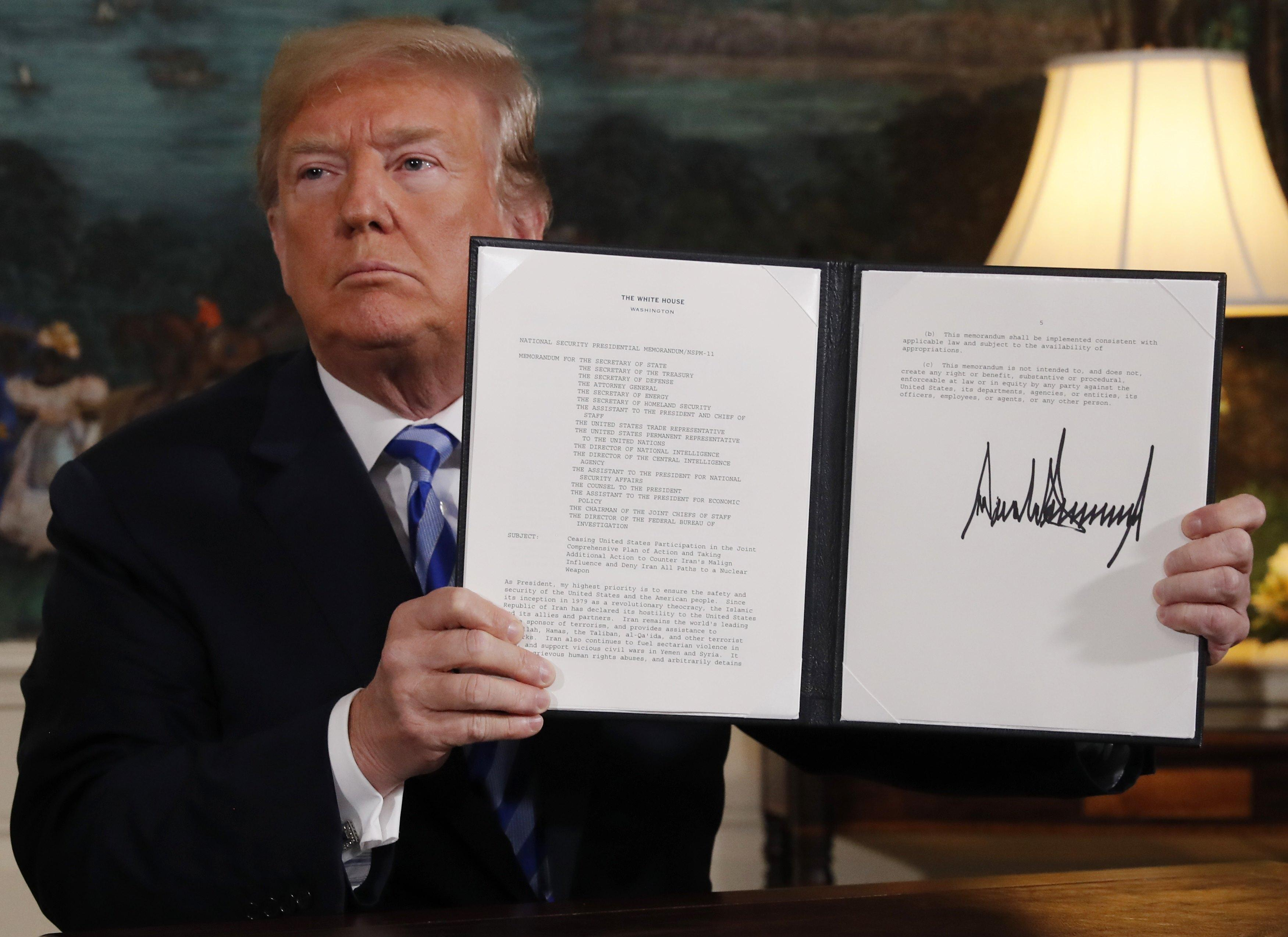 Europeans Work To Save Iran Deal And Business After Trump Pulls