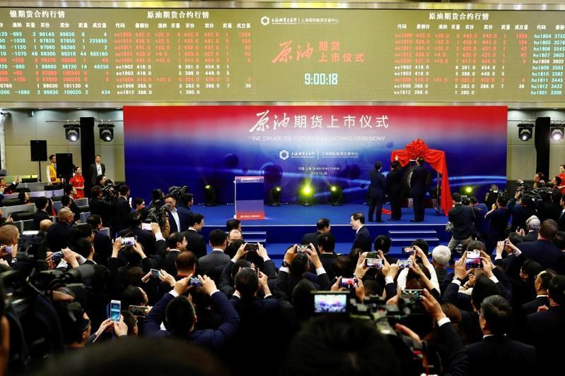 China's crude oil futures boom amid looming Iran sanctions