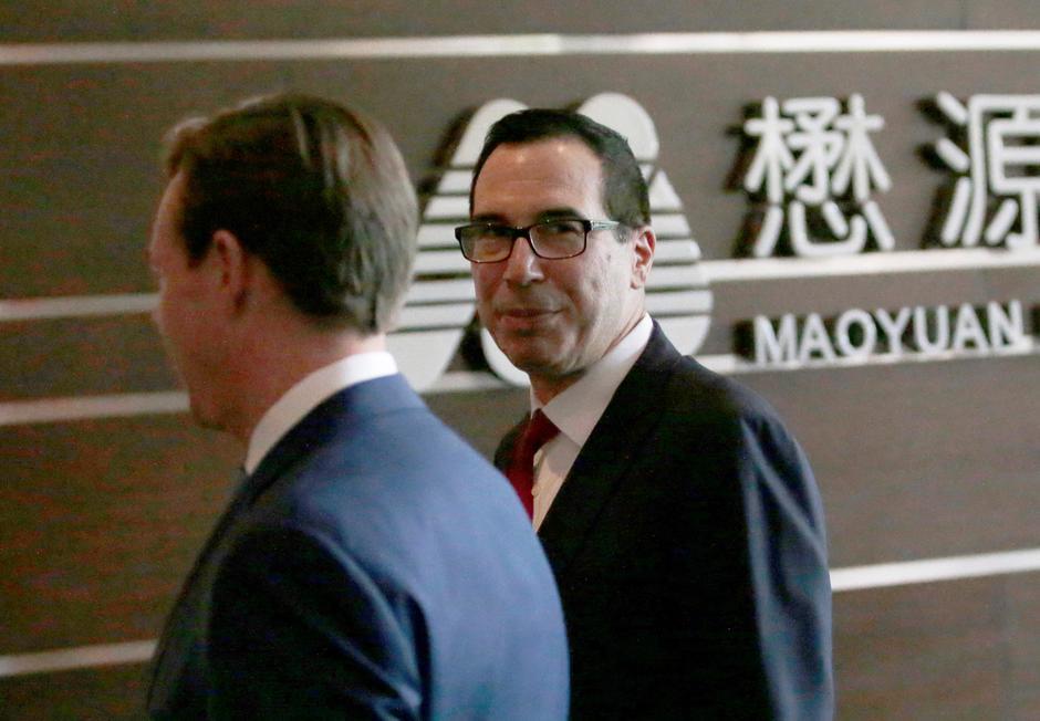U S , China putting trade war on hold, Treasury's Mnuchin says - Reuters