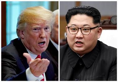 6月の米朝首脳会談中止を通知、トランプ米大統領が金委員長に
