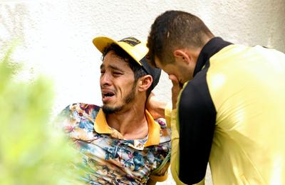 Mourning drowned migrants in Tunisia