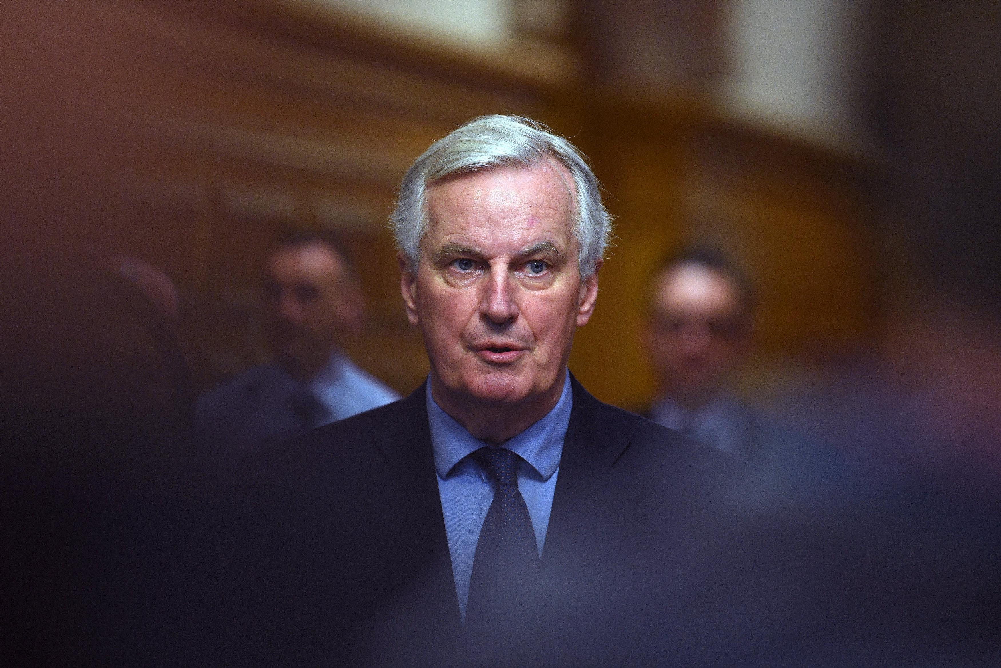 'Respect your own red lines' Barnier tells 'paradoxical' UK ministers