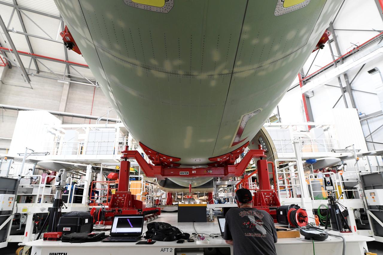 Resultado de imagen para new assembly line A320 Hamburg