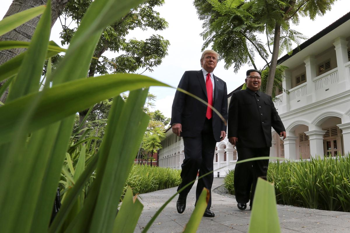 Call me any time: Trump says he gave North Korea's Kim direct number