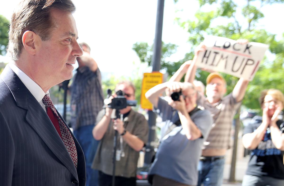 Judge sends Trump's former campaign chief Manafort to jail   Reuters