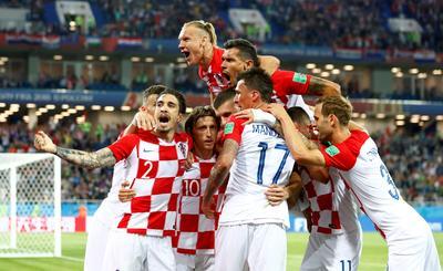Croatia 2 - Nigeria 0