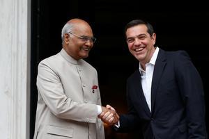 President Ram Nath Kovind visits Greece
