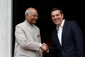 President Kovind visits Greece