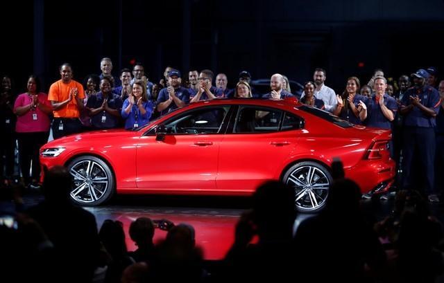 Volvo Cars Ceo Says Auto Tariffs Threaten Jobs At New U S Plant