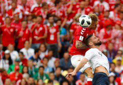 France 0 - Denmark 0
