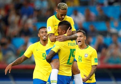 Brazil 2 - Serbia 0