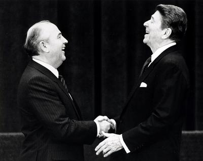 When Reagan met Gorbachev