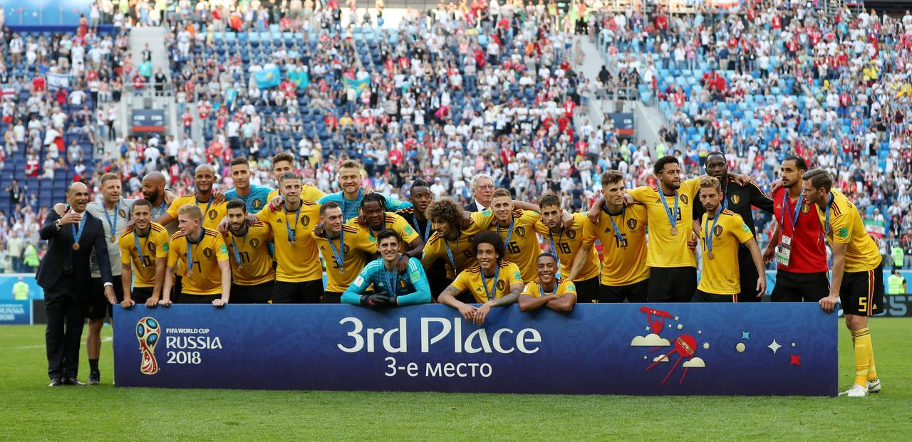 mixed feelings for belgium as they are feted by fans reuters