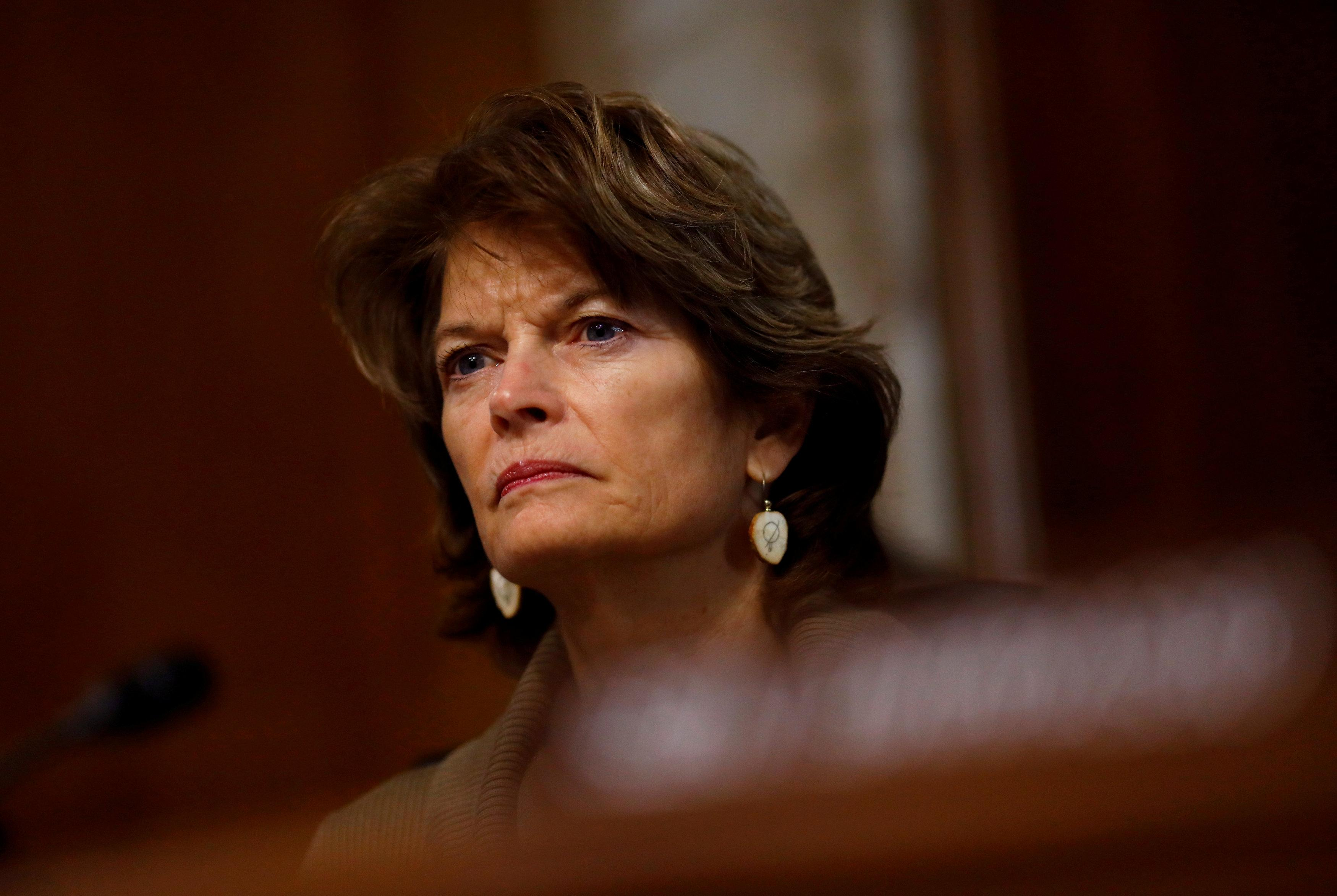 Chairwoman Lisa Murkowski (R-AK) speaks during a hearing of the Senate Committee on Energy and Natural Resources on Capitol Hill in Washington, U.S. March 13, 2018. Eric Thayer