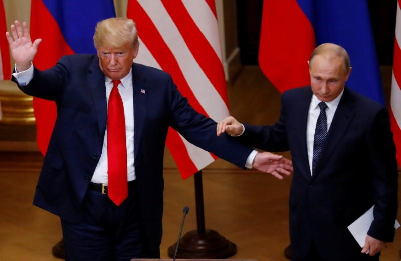 After pummeling allies, Trump ends wild Europe trip with Putin embrace | Reuters