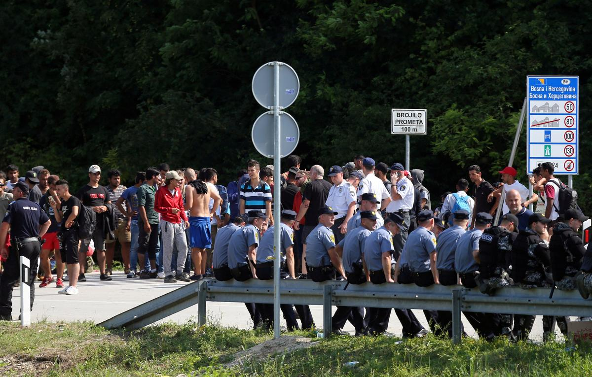 Bosnia's security minister wants army at border to curb entry of migrants